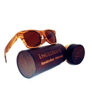 Zebrawood Full Frame Polarized Sunglasses